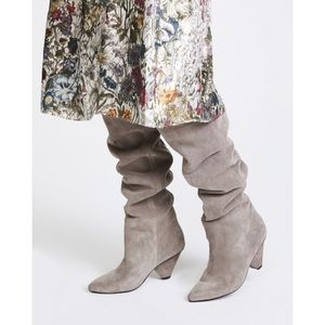 Jeffrey Campbell Senita High Heel Boots Pointy Toe